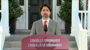 Coronavirus outbreak: Trudeau says government should be considered a 'lender of last resort' for large businesses