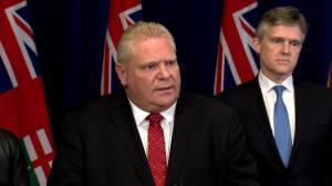 Coronavirus outbreak: Doug Ford 'very concerned' about situation at U.S. / Canadian border