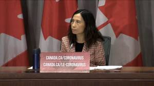 Coronavirus outbreak: Dr. Tam addresses 'second wave' concerns with much of Canada seeing warm weather