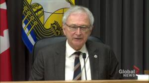 N.B. premier urging people to follow self-isolation rules (01:29)