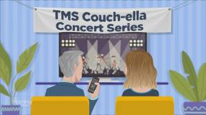 TMS Couch-ella: Meghan Patrick performs 'Never Giving Up On You' (05:38)