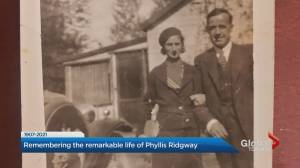 Phyllis Ridgway, Canada's oldest living person, dies at 114 (02:28)