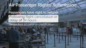 Consumer Matters: Airline watchdog concerned about proposed changes to Canada's air passenger 'bill of rights' (02:25)
