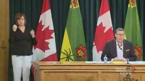 Saskatchewan premier 'concerned about large gatherings regardless of the cause'