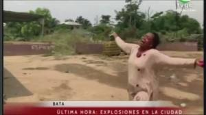 Large explosions hit Equatorial Guinea military base, killing at least 15 (01:43)