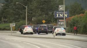 Kamloops school and motel locked down after gunfire (00:31)