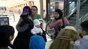 Syrian refugees reunite in Regina
