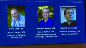 David Card, Canadian-born economist, named joint winner of Nobel Prize in economics (04:42)