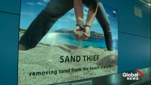 Police in Italy arrest couple for taking trunk full of sand from beach