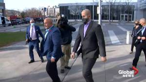 TPS officer pleads not guilty to discreditable conduct (01:42)