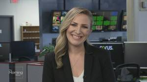 Checking in with Global Edmonton's Erin Chalmers