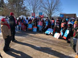 Peterborough-area public elementary teachers hold another one-day strike