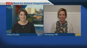Back to school organization tips (04:44)