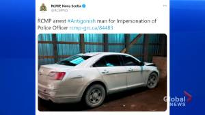 Man arrested for impersonating police officer, using unmarked vehicle (02:07)
