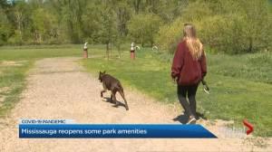 Coronavirus: City of Mississauga reopens public spaces (02:25)