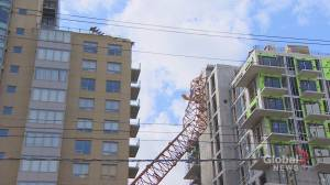 Work to remove Halifax crane toppled by Dorian begin this weekend