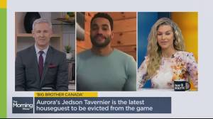Big Brother Canada evictee Jedson Tavernier talks about his final moments on the show (02:15)