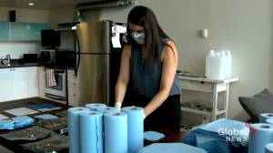 Laid-off geologist overcoming COVID-19 crisis by creating sanitizing wipes business