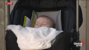 Global News Morning says hello to baby Marley! (04:03)