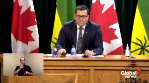 Saskatchewan announces online booking system for COVID-19 vaccine (04:02)