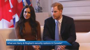 How much does it cost to secure Harry and Meghan? (03:42)