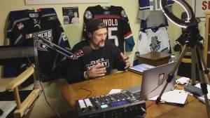 Former pro hockey player battles addiction (02:13)