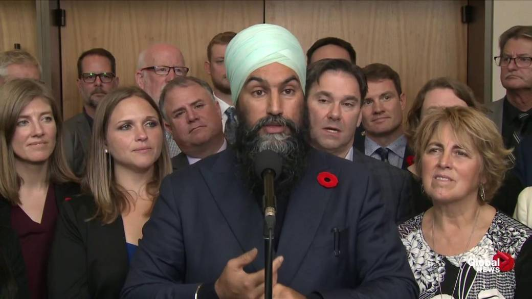 Singh and Trudeau to meet today to discuss NDP's priorities for throne speech