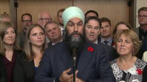 Singh maintains Liberal government has to work with NDP