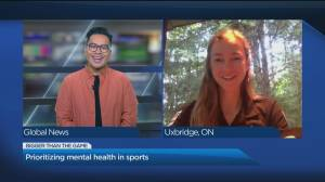 Canadian Olympian Haley Smith talks the importance of prioritizing mental health in sports (04:49)