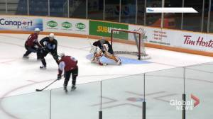 QMJHL resumes games for all but New Brunswick teams (01:56)