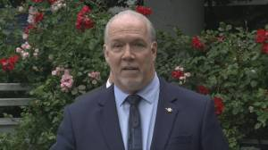 B.C. Premier John Horgan reacts to SCOC rejection of TMX appeal