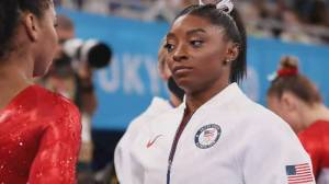 Simone Biles, greatest gymnast of all time, puts mental health on Olympic podium (02:03)