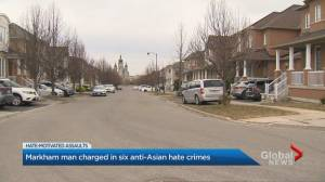Asian residents in Markham spat on and hit, police say (02:21)