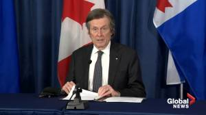 More than 1 in 3 adults in Toronto vaccinated for COVID-19, but supply won't meet city's capacity, says Tory (02:26)