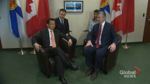Nova Scotia Premier to return to China despite rising tensions