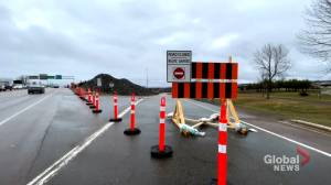 Petitcodiac River causeway closed for six months (01:52)