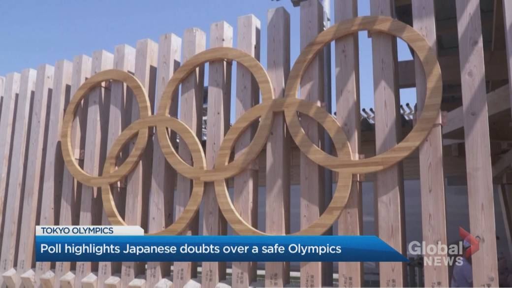 Click to play video: 'Final countdown to Tokyo Olympics riddled with uncertainty'