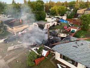 Explosion kills person, destroys Saskatoon home (01:46)