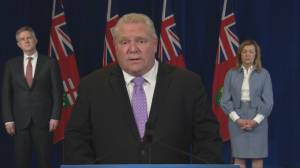Coronavirus: Ontario state of emergency extended