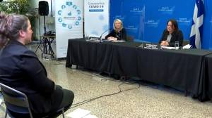 Montreal at stable but 'uncomfortable' coronavirus plateau, public health says (01:48)