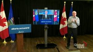 COVID-19: Alberta announces 2-week pause on group fitness, group performance classes and indoor team sports (01:25)