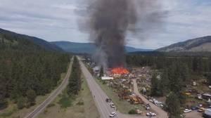 North Okanagan mill resuming operations after major blaze (02:07)