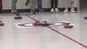 Rocks and Rings program helps students learn how to curl.