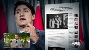Trudeau brownface photo reaction