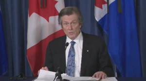 Mayor Tory supports province's decision to move schools to online learning (00:42)