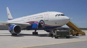 Prime minister's damaged plane grounded after crash