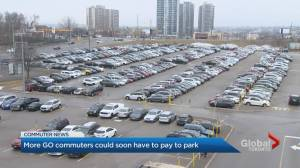 More GO Transit commuters could soon have to pay to park