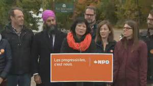 NDP makes last pitch in hometown of late Jack Layton