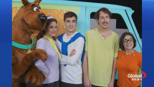 Scooby-Doo musical kicks off a world tour with shows in Halifax | Watch News Videos Online