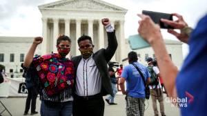 U.S. Supreme Court blocks Trump bid to end 'Dreamers' immigrant program (02:54)